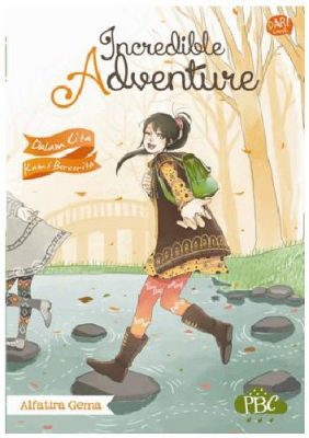 Cover Buku Incredible Adventure Novel Remaja terlaris