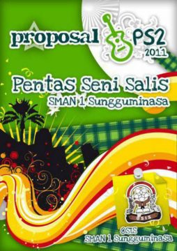 Cover Proposal keren pentas seni sma free download