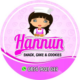 HANUN COOKIES CUTING sticker design kue kering