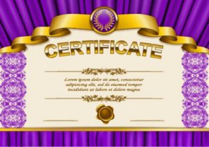 a design vector certificate template format for free download