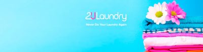 background banner laundry bunga