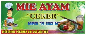 Banner Mie Ayam Ceker Cdr