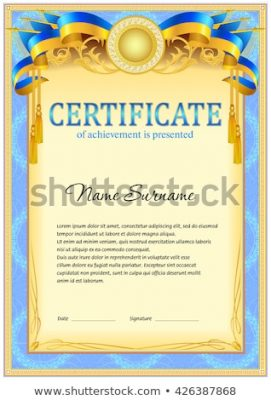 beautifull frame design certificate free download cdr vector