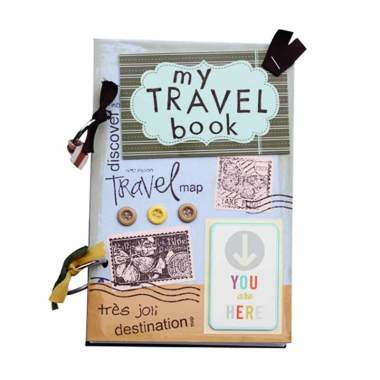 buku unik bukuunik my travel book cover lucu