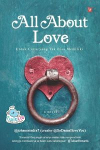 cover buku novel all about love