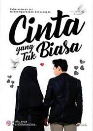cover buku novel cinta yang tak biasa