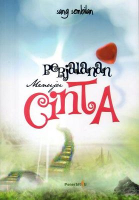 cover buku novel perjalanan cinta