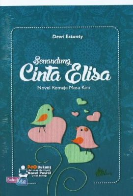 cover buku novel senandung cinta elisa