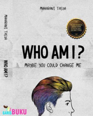 cover buku novel who am i maybe you could