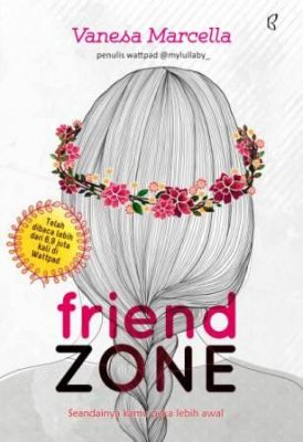 friend zone vanesa marcella unik buku cover sampul