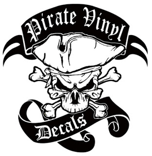 pirate vinyl distro design cool