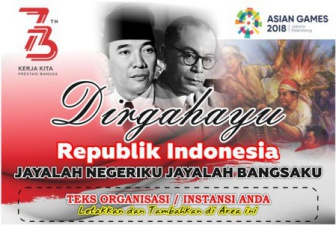 Backdrop Dirgahayu download desain banner agustusan hut ri cdr
