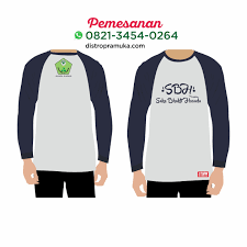 Download Template Kaos Lengan Panjang Psd 4