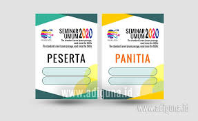 Template Id Card Panitia Cdr download