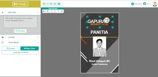 Template Id Card Panitia kegitan cdr