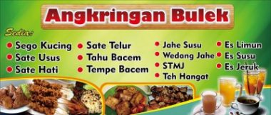 angkringan Download Template Banner Warung Makan Cdr