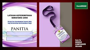 design Id Card Panitia Cdr