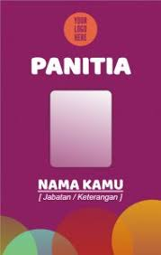 download Id Card Panitia Cdr