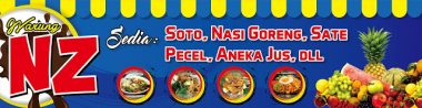 jus buah Download Template Banner Warung Makan Cdr