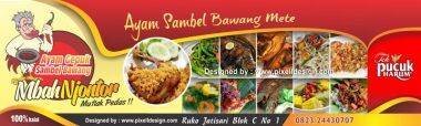 rumah Download Template Banner Warung Makan Cdr