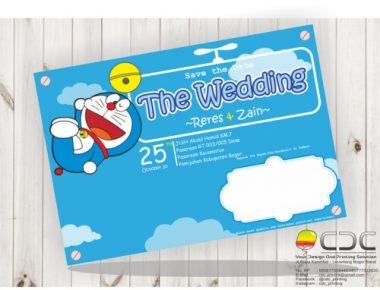 the wedding full color blue doraemon