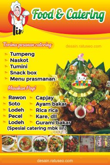 banner food catering cdr
