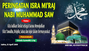 Download Spanduk Isra Miraj Cdr