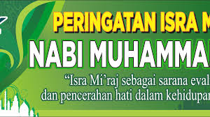 Download Spanduk Isra Miraj nabi