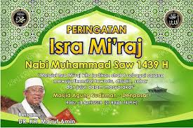 Download banner keren Isra Miraj Cdr