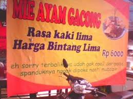download banner warung makan unik vector cdr