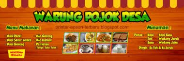 download spanduk warung makan unik cdr