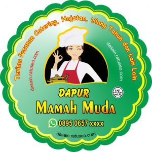 download stiker label produk makanan cdr