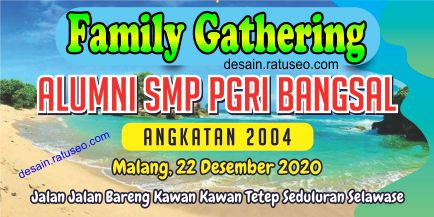 download banner family gathering alumni smp pgri cdr