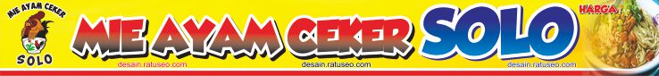 banner mie ayam ceker solo cdr