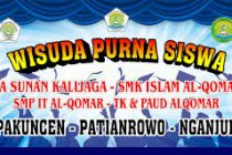 Contoh banner Wisuda Paud cdr