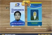 background Id Card Karyawan Cdr