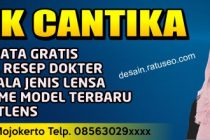 banner Optik kacamata cdr