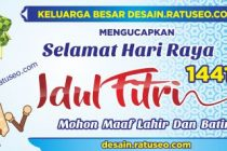 download banner idul fitri cdr