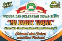download banner wisuda madrasah aliyah cdr