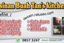 download jual banner asinan buah cdr format coreldraw