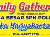download spanduk family gathering format cdr