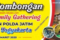 spanduk family gathering format corel