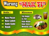 warung nasi Download Template Banner Makan Cdr